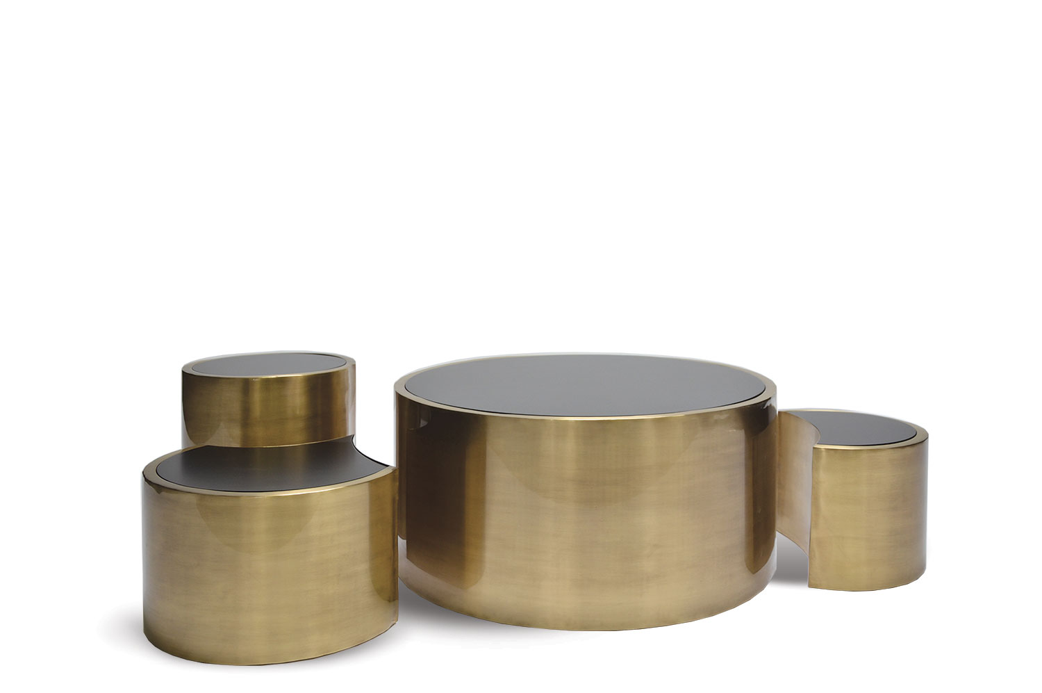 Polymorphic Brass Coffee Table 2