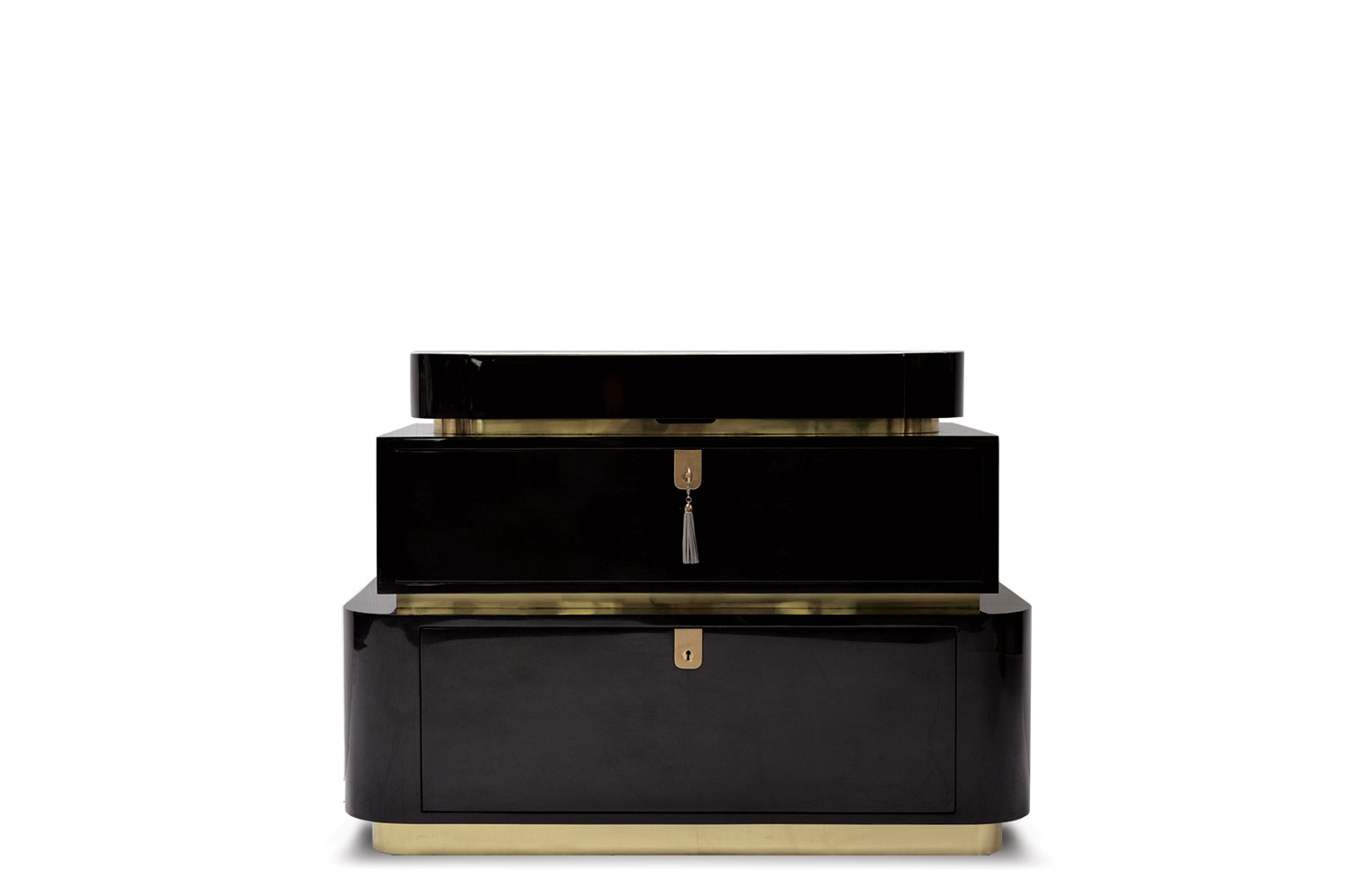 Escalation Chest - Goatskin / Lacquer 2