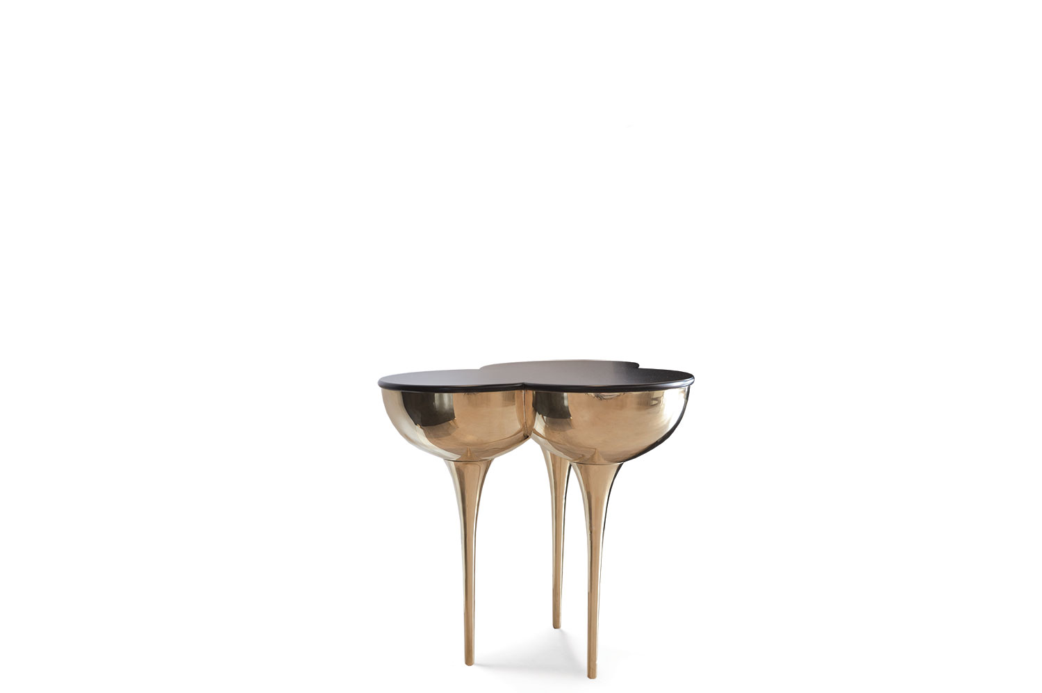 SLO Side Table - Brass 2