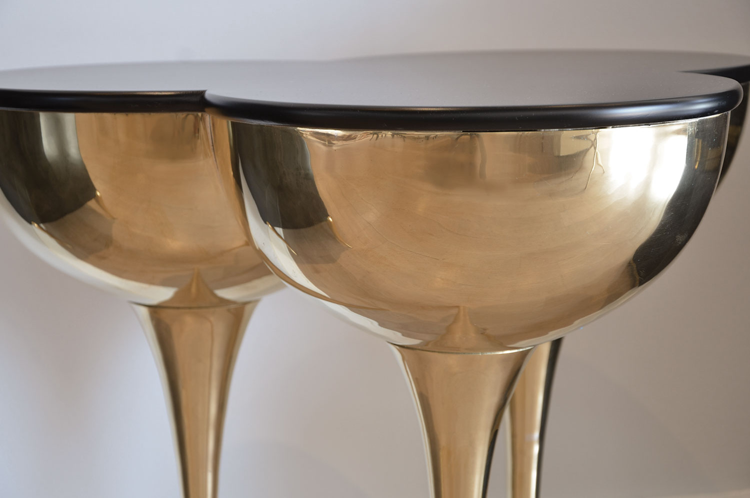 SLO Side Table - Brass 3