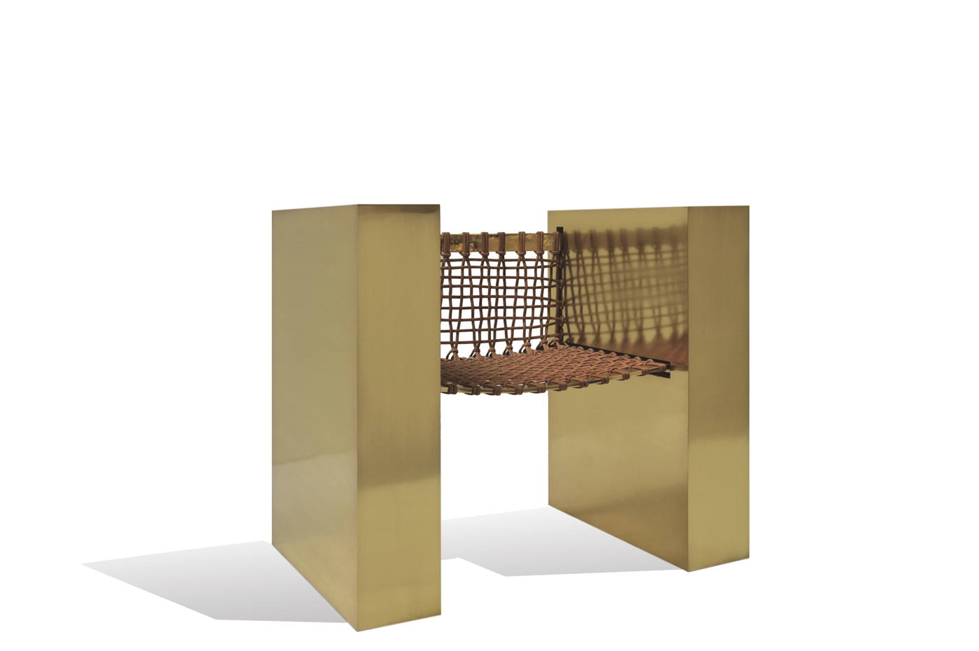 Cube Brass Throne 0