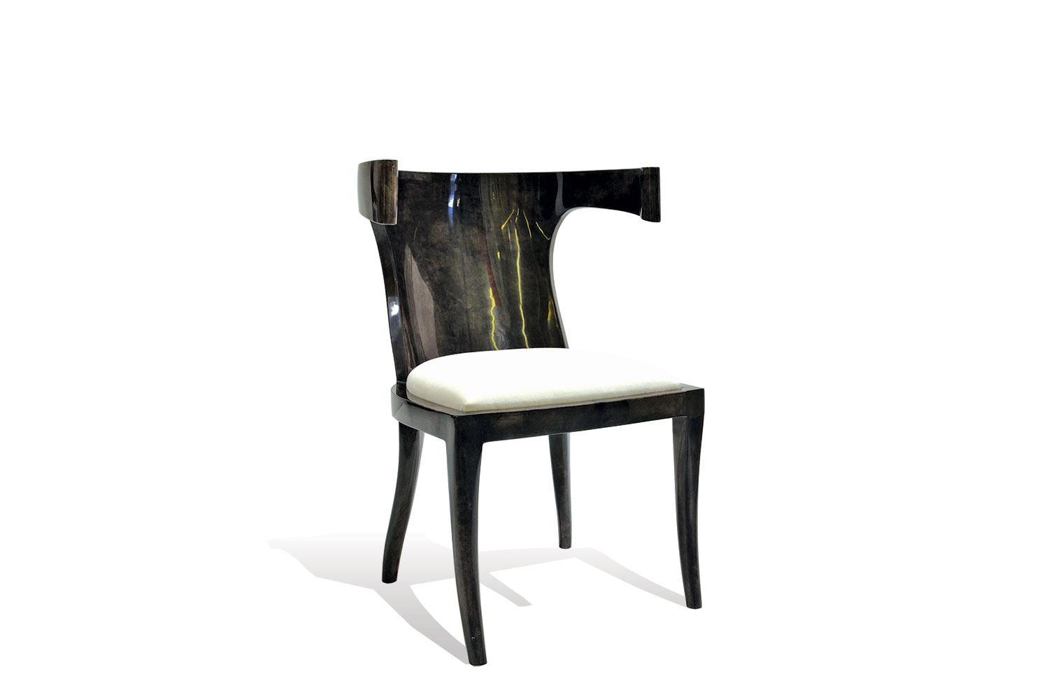 Bullhorn Chair- Goatskin 0