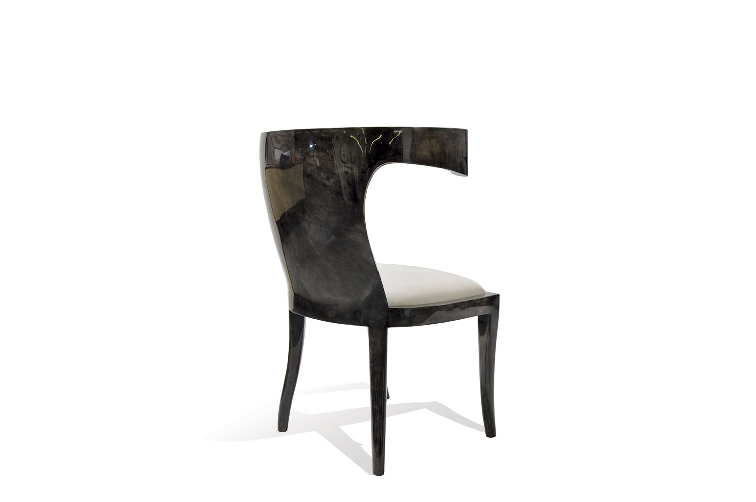 Bullhorn Chair- Goatskin 2
