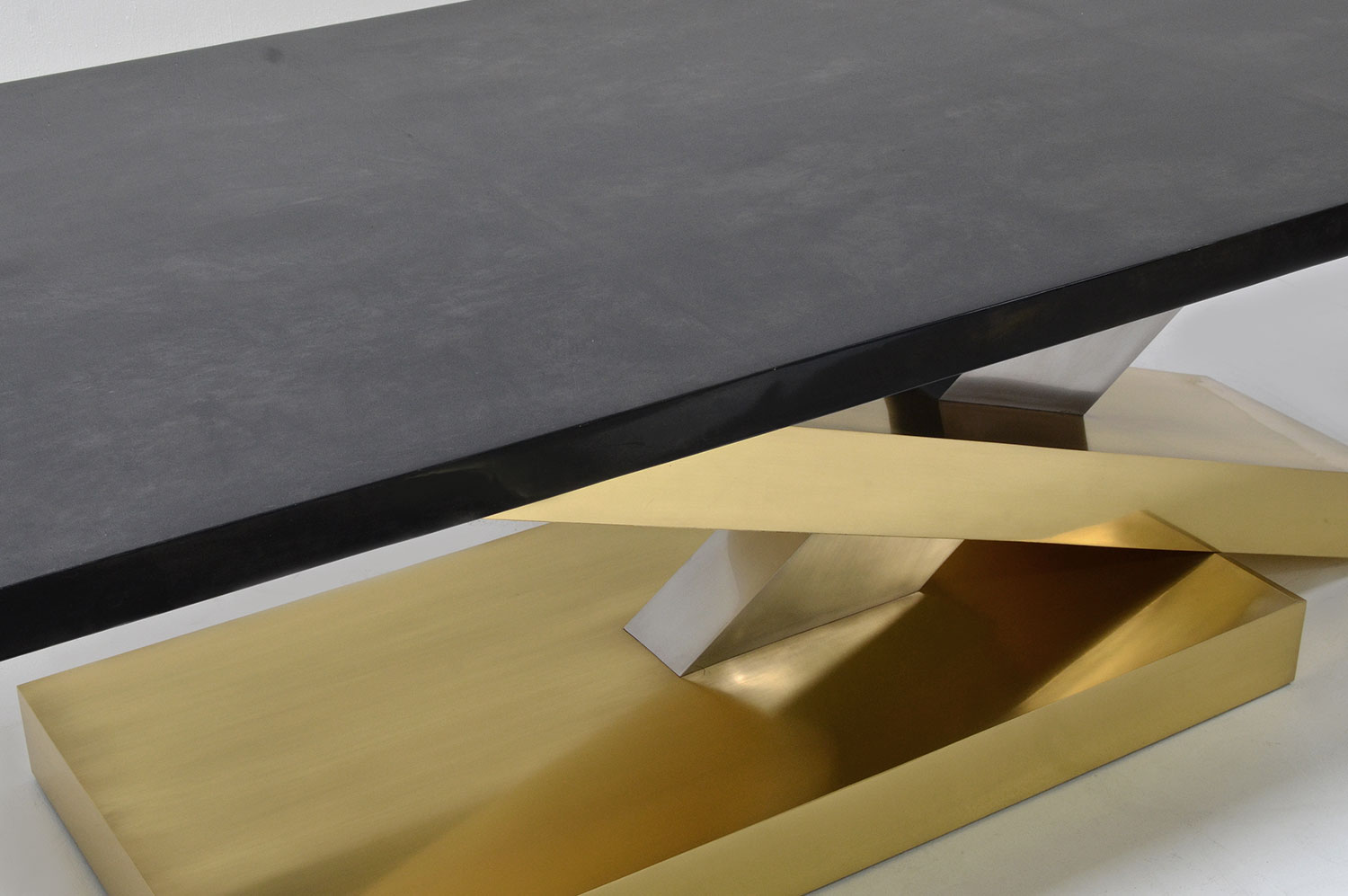 Countervail Table - Goatskin / Brass 3
