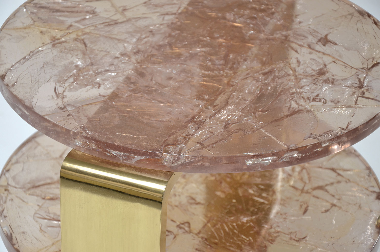 Etagere Side Table - Ice-Resin 4