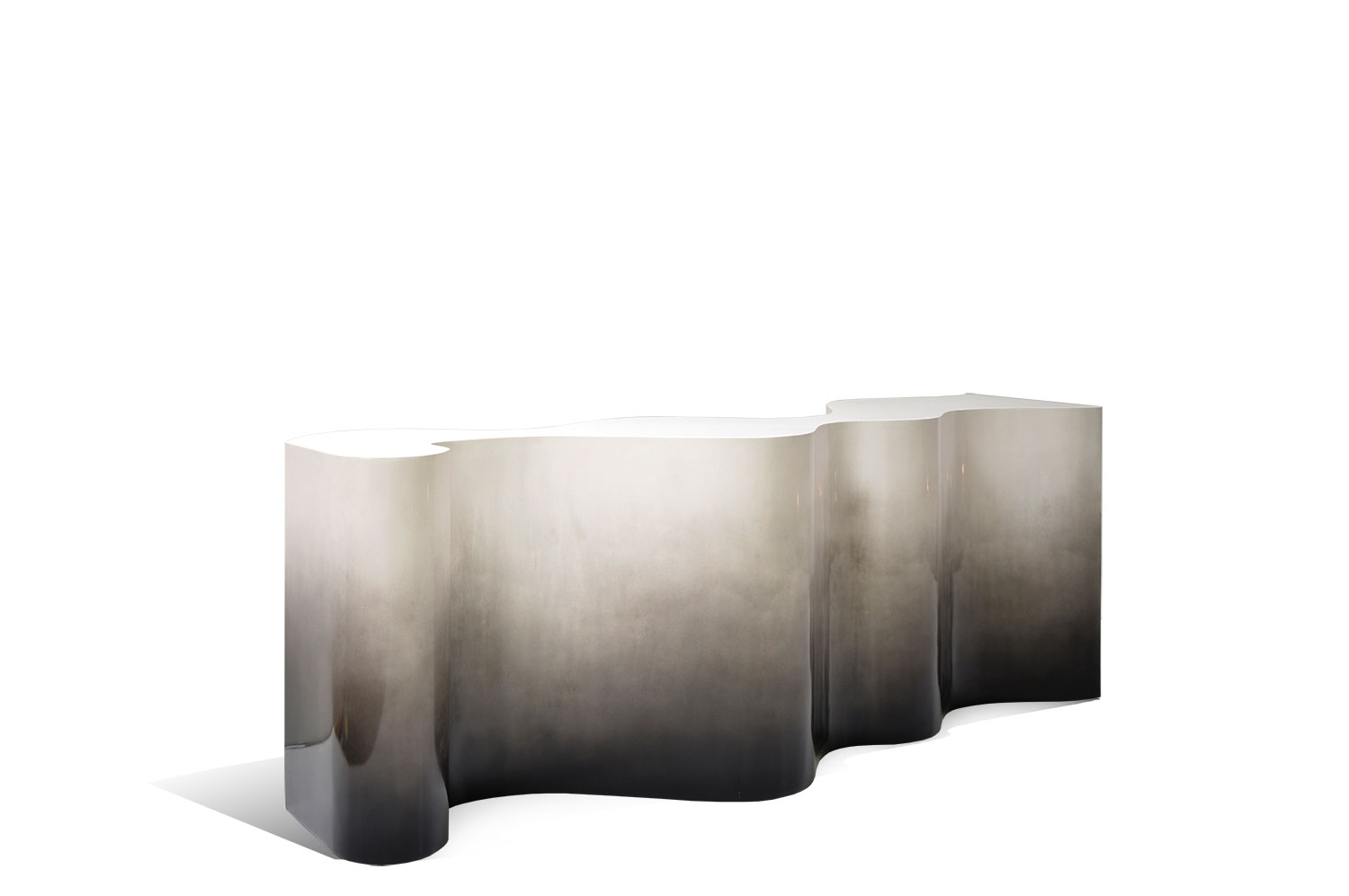 Undulated Console Table 0