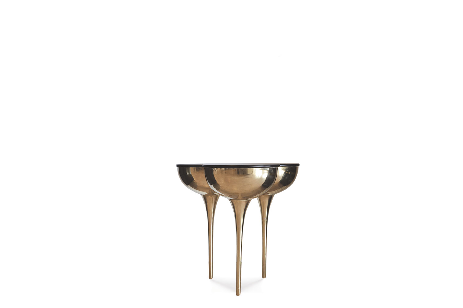 SLO Side Table - Brass 0
