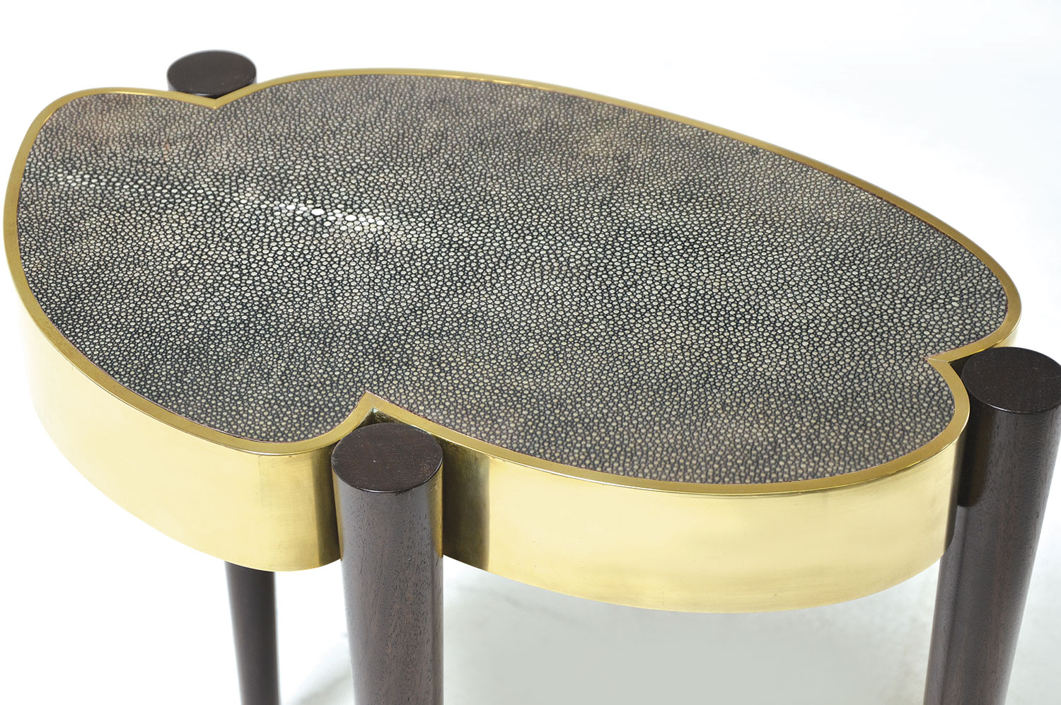 Cloud Drinks Table - Shagreen 3