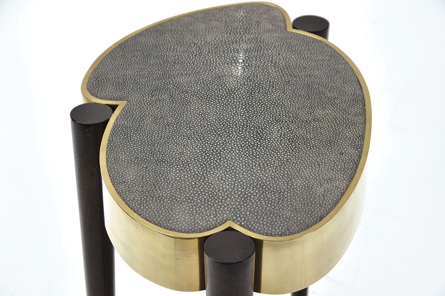 Cloud Drinks Table - Shagreen 4