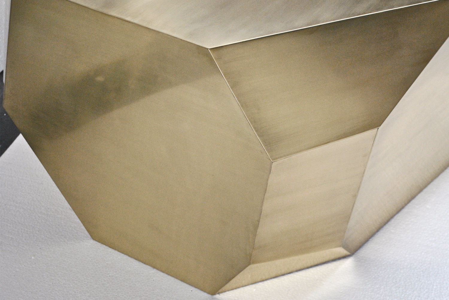 Popova Coffee Table - Brass 2