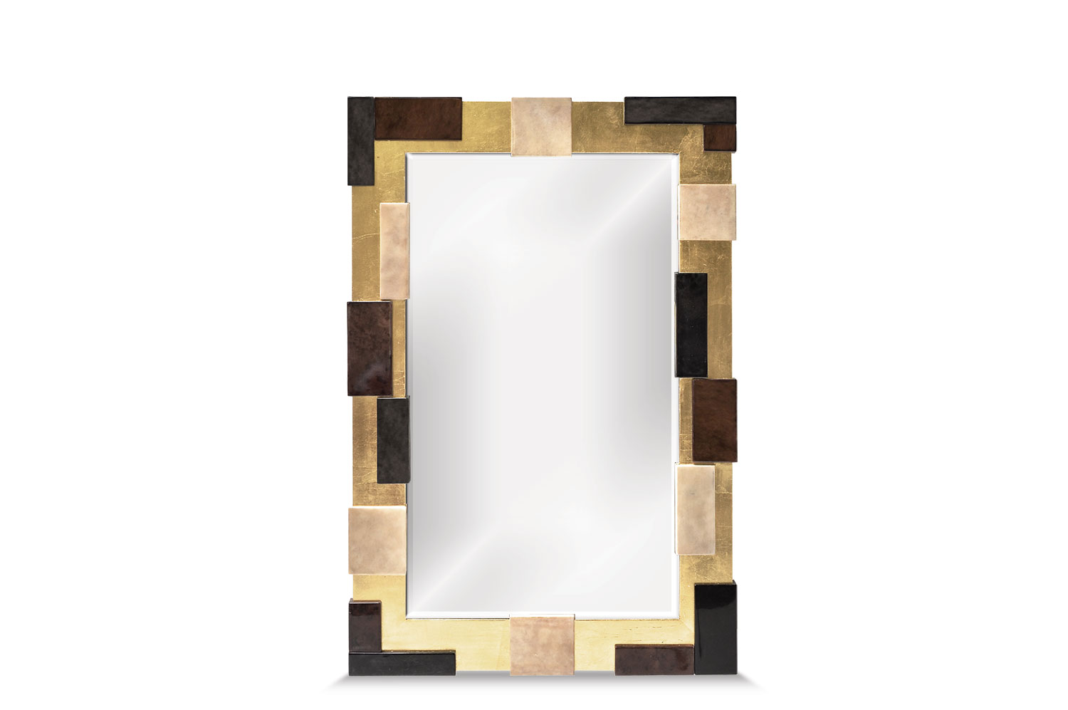 Resolution Mirror - Goatskin / Gold Leaf 0